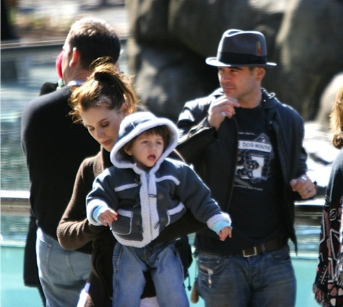 Colin Farrel family