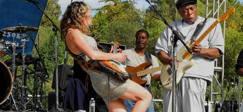 Ana Popovic & Buddy Guy