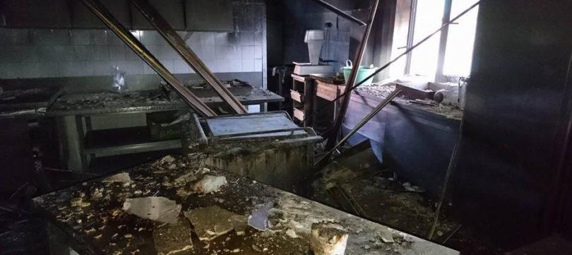 požar u kuhinji