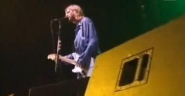 Kurt Cobain, zadnji nastup u Ljubljani