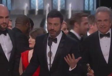 Oscar 2017, gaf