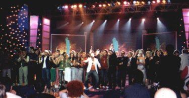Davorin 2004 - svi dobitnici na sceni