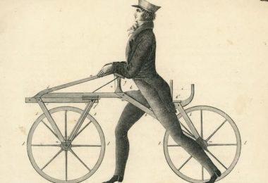 Prvi bicikl, draisine