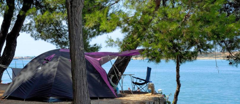 Jadransko more, kamp