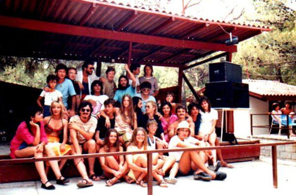 Kamp u Makarskoj, Galija i fanovi (iz arhive Srđana Stojanovića)