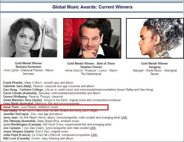 global music award