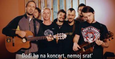 Dubioza kolektiv, najava koncerta u Sarajevu 2017