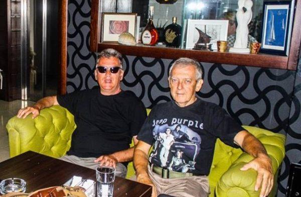 Dragutin Matošević i Zoran Cane Kostić