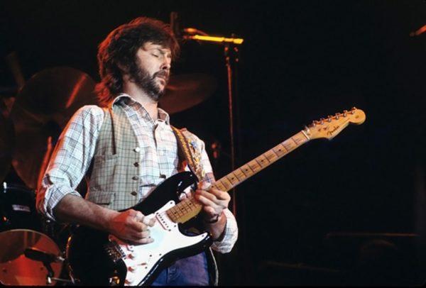 Eric Clapton i gitara 'Blackie', jedna od ikona rocka
