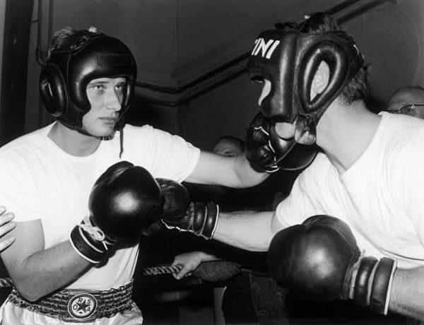 Johnny Hallyday kao boksač u 19660-im