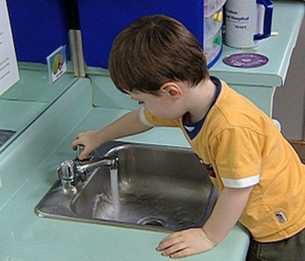 gripa, pranje ruku