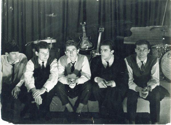 1962 - Indexi, Uzelac, Misaljevic, Hadzihasanovic, Arnautalic, Aksamija