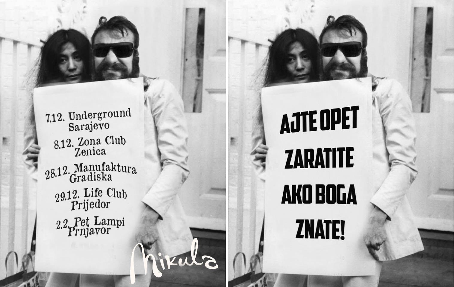 Mikula i Yoko Ono